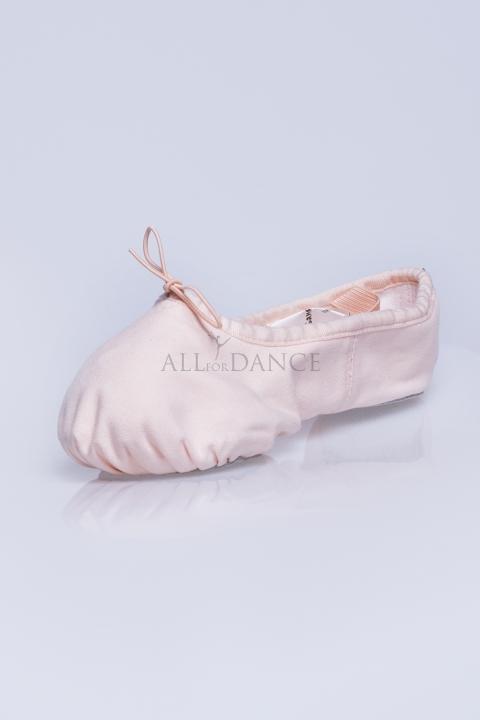 Baletki Enterchat róż baletowy