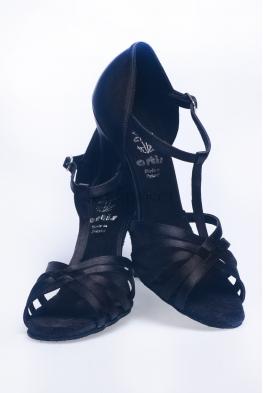 Buty DL3 czarna satyna