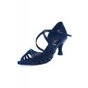 Buty DL9 czarna satyna