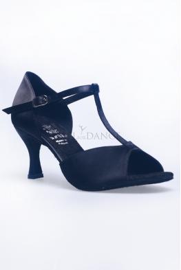 Buty DL1 czarna satyna