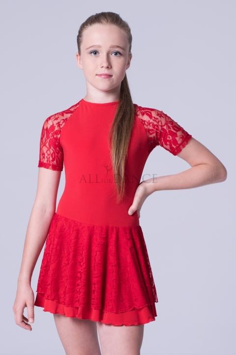 Sukienka Balbina czerwona