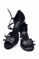Buty DL35 czarna satyna