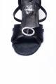 Buty DL21 czarna satyna