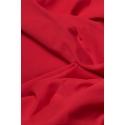 Tkanina lycra czerwona matowa