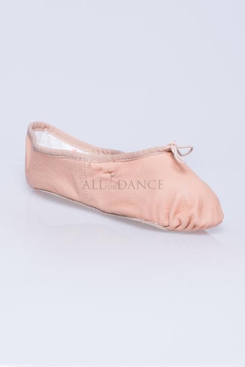 Baletki Tutu cielista skóra
