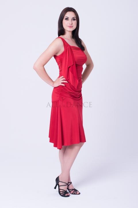 Sukienka FRANCESCA bordowa