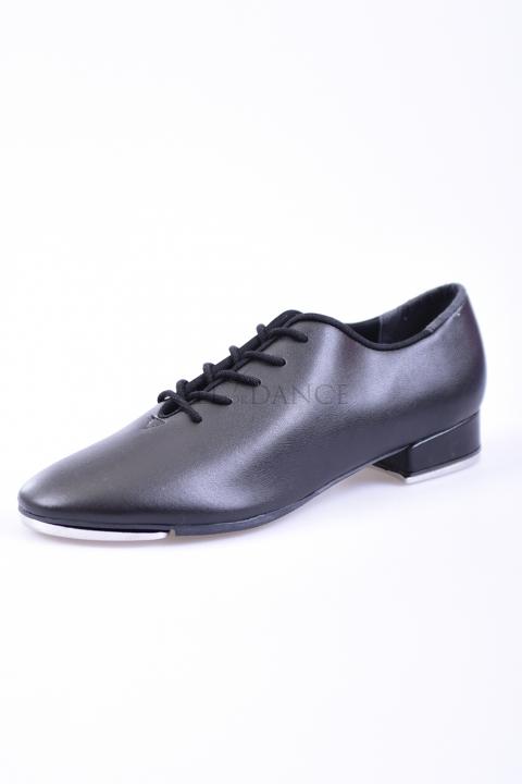 Buty do stepowania TA05 czarna eko skóra