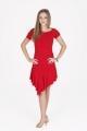 Sukienka MALENA czerwona