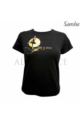 Koszulka Be a star czarna