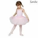 Sukienka baletowa FAWN różowa, czarna