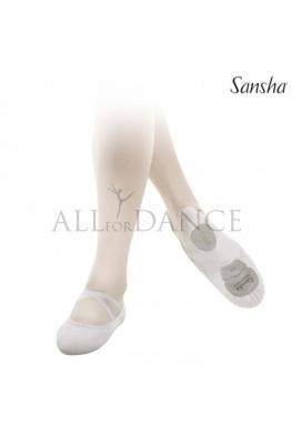 Baletki LeBallet Sansha białe