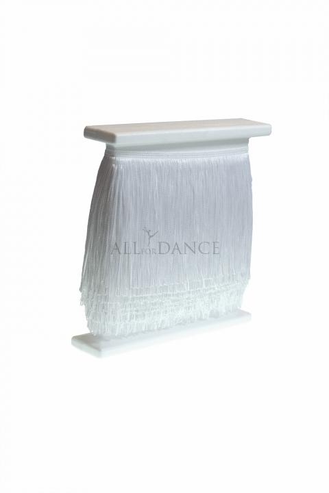 Frędzle taneczne cięte WHITE
