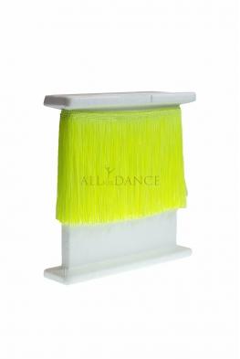 Frędzle taneczne cięte TROPIC LIME żółty neon