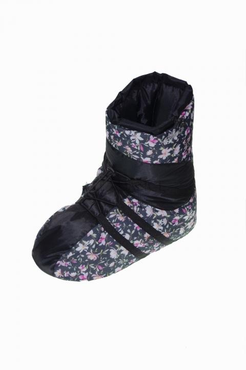 Buty ocieplacze SoDanca w kwiatki