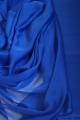 Szyfon niebieski chabrowy dwutonowy