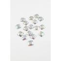 Kamienie przyszywane 642 Crystal AB kwadraty
