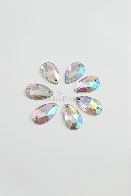 Kamienie przyszywane 6883 Crystal AB łezki
