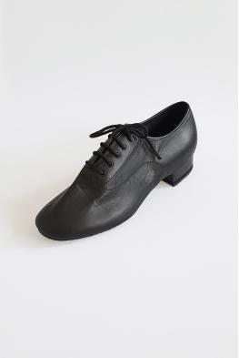 Buty AMS01 czarna skóra