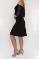 Sukienka MATILDA czarna
