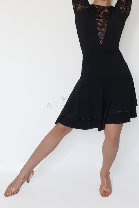 bfaea551 Spódnica FELICITA czarna - Sklep Taneczny All For Dance