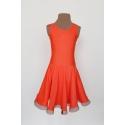 Sukienka Isabel pomarańczowa
