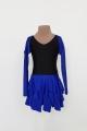 Sukienka BLANCA czarno szafirowa