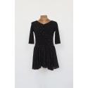 Sukienka FLY czarna z kamieniami
