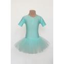 Sukienka PRINCESSA tiulowa jasna niebieska