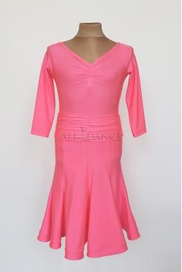 Sukienka PIERWSZY KROK z klinami i krynoliną