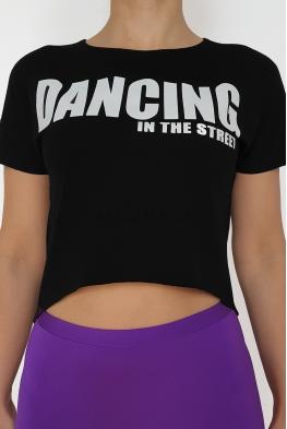 Bluzka SK043 czarna DANCE