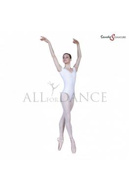 Body SHARITA białe bawełniane