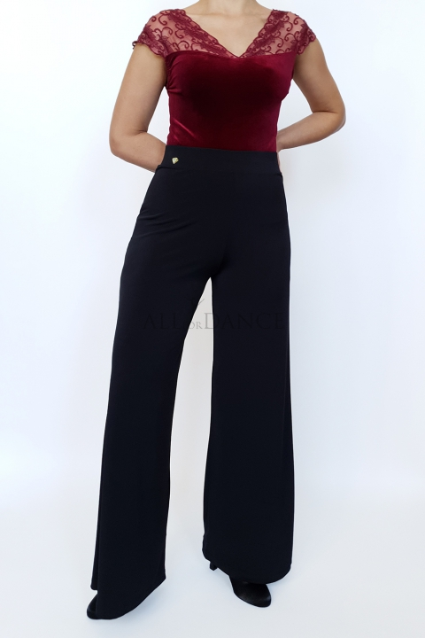 Spodnie LEILA czarne