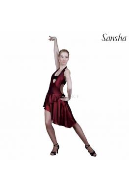 Sukienka DIANDRA błyszcząca czerwień