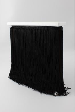 Frędzle taneczne cięte BLACK czarne
