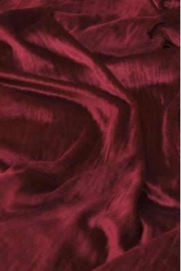 Welur czerwony nierozciągliwy