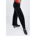 Spodnie do jazzu z weluru
