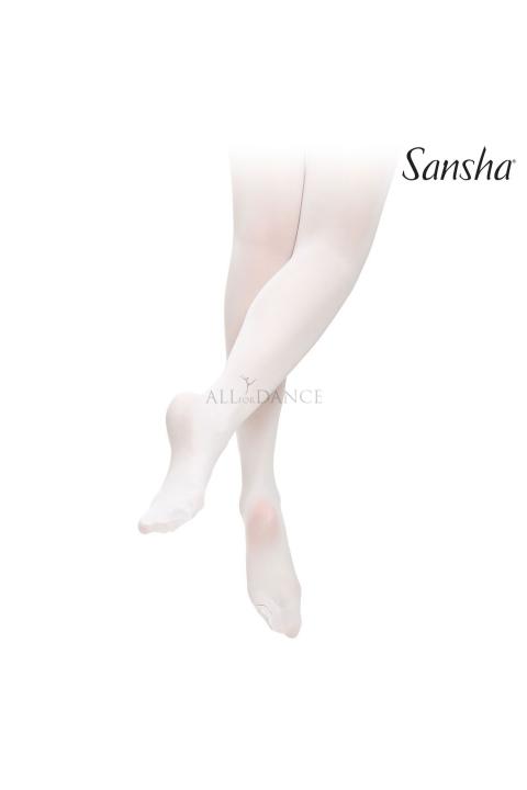 Rajstopy T99CH  baletowe białe