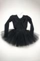 Sukienka baletowa PRINCESSA z tiulem i ozdobami różne kolory