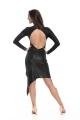 Sukienka latino czarna