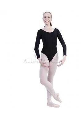 Boby MONA czarne bawełniane długie rękawy