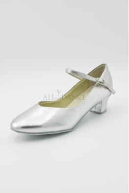 Buty charakterki CH srebrne