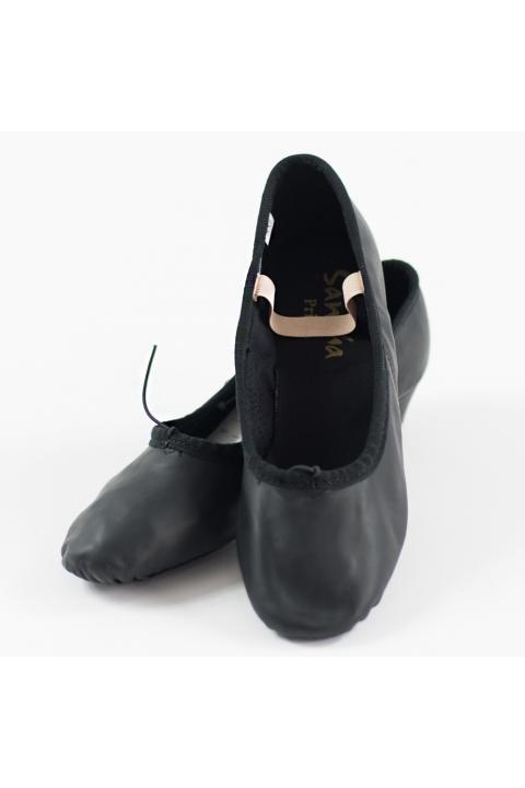 Buty Prima skórzane czarne