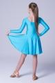 Sukienka Pierwszy krok niebieska