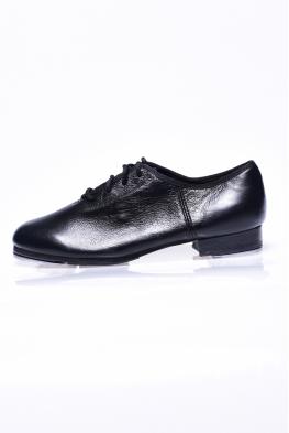 Buty do stepowania T-MEGA czarna skóra